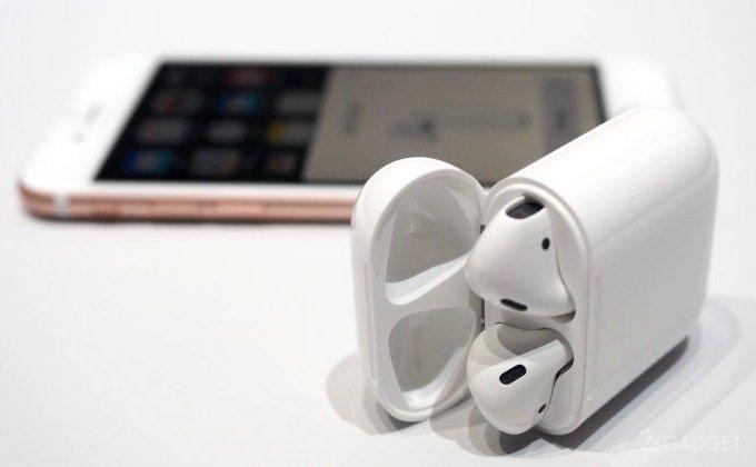 Наушники AirPods станут универсальными и с биометрическими датчиками (5 фото)