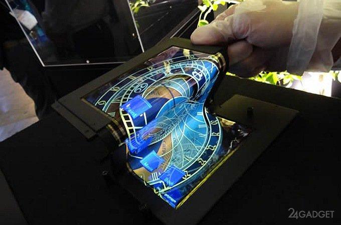 У LG появится смартфон-рулон (4 фото)