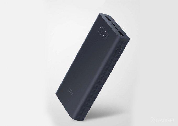 Новый powerbank от Xiaomi предлагает двухстороннюю зарядку
