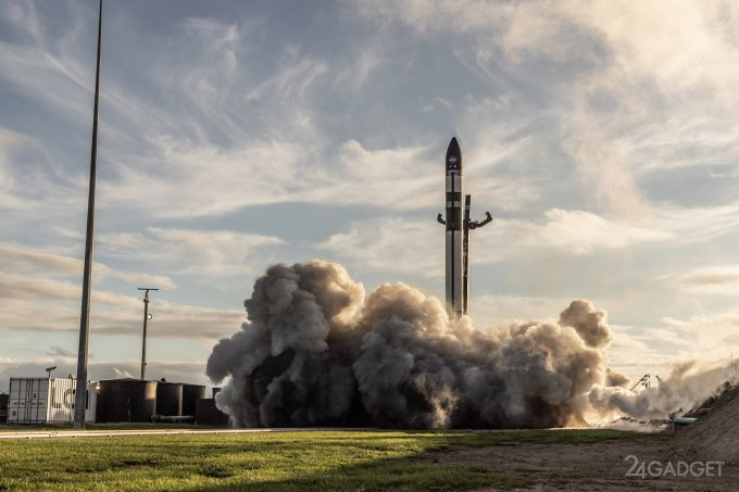 Rocket Lab наступает на пятки SpaceX (3 фото + видео)