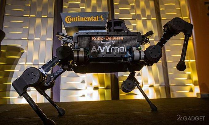 Роботы-псы заменят почтальонов и курьеров (5 фото + видео)