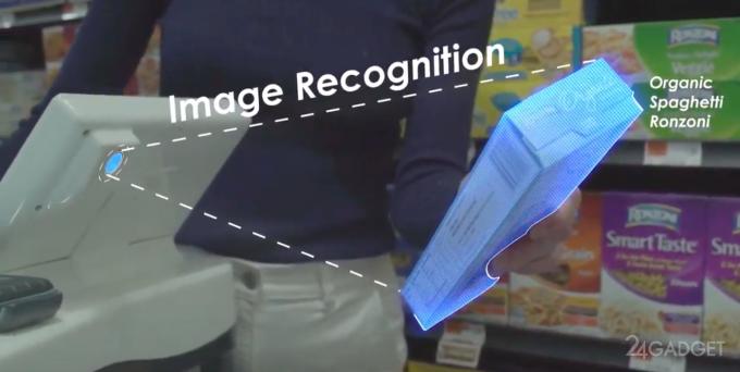 Революционная смарт-тележка Caper заменит весы и кассу в магазинах (5 фото + видео)