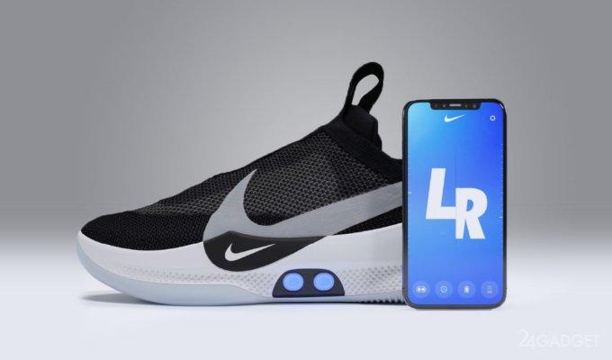 e426f691 Nike выпустила новые «умные» кроссовки с автошнуровкой за $350 (7 фото +  видео