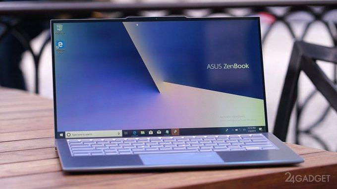 """ASUS ZenBook S13 — самый """"безрамочный"""" ноутбук с козырьком (14 фото + видео)"""