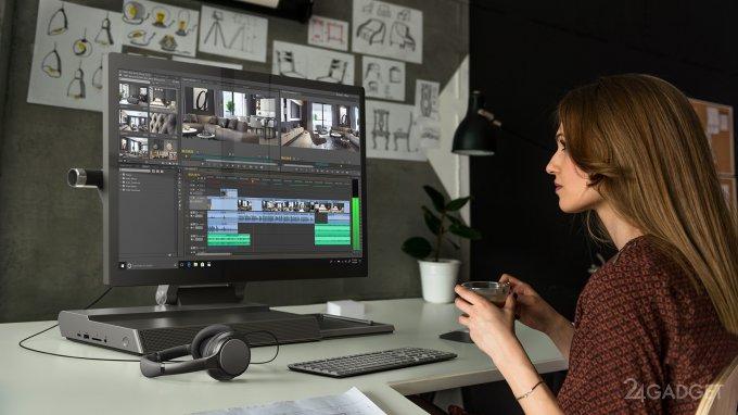 CES 2019: классический ноутбук, перевёртыш и моноблок серии Lenovo Yoga (15 фото + видео)