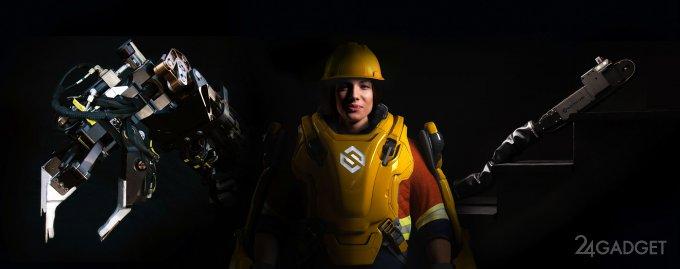 Экзоскелет Guardian XO Max с эксклюзивными возможностями (5 фото + видео)