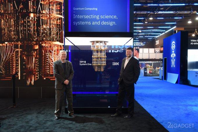 IBM анонсировала первый в мире коммерческий квантовый компьютер (9 фото + видео)