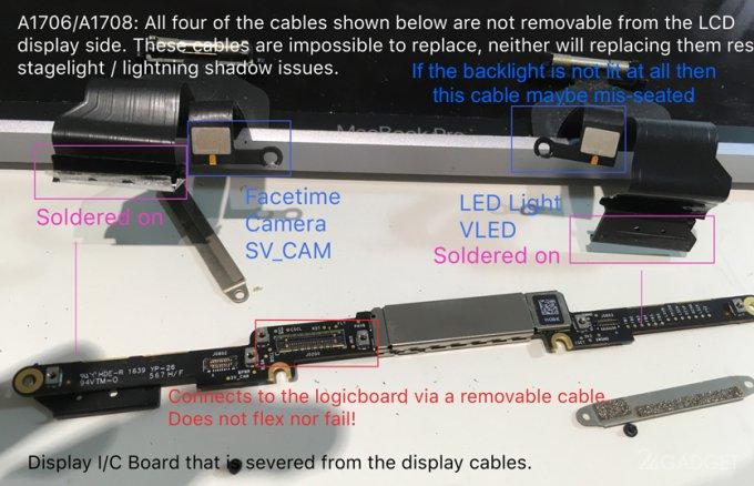 Экономия на кабеле привела к массовой поломке MacBook Pro (3 фото + 2 видео)