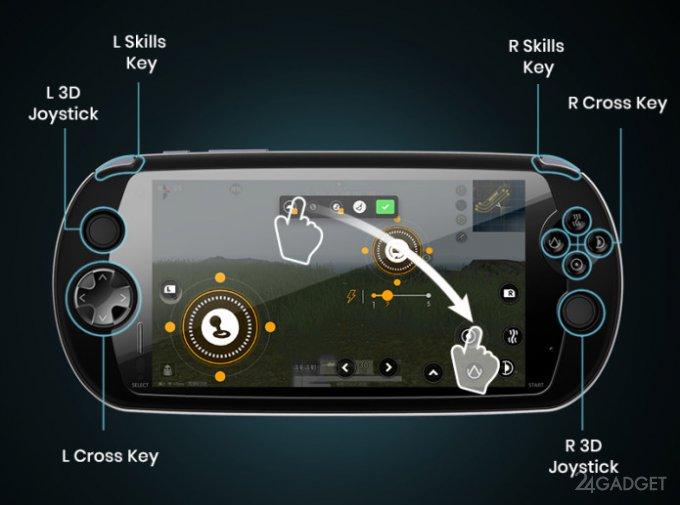 MOQI — идеальный игровой смартфон-геймпад (7 фото + видео)