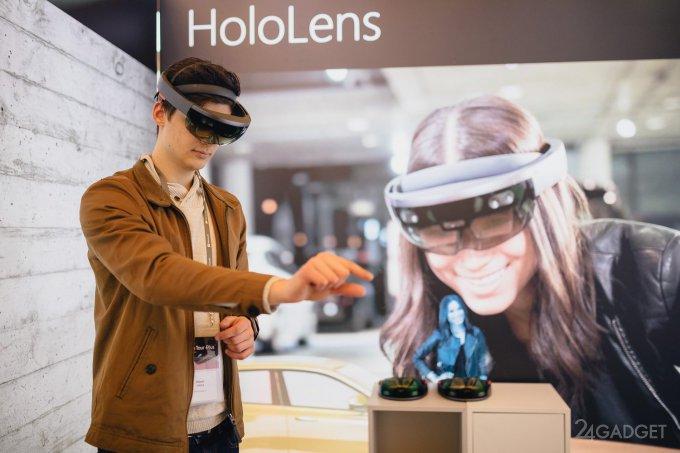 Microsoft привезёт на выставку MWC 2019 очки HoloLens 2 (5 фото)