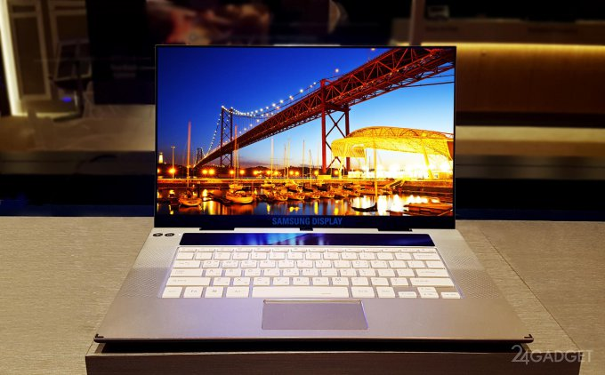 Samsung выпустила передовой OLED-экран с 4K для ноутбуков (2 фото)