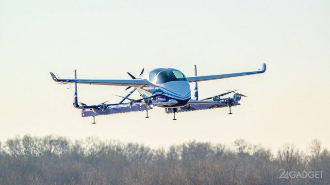 Boeing подняла в воздух своё летающее такси