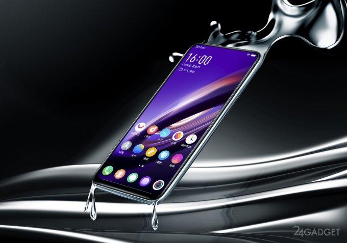 Vivo APEX 2019 — бесшовный 5G-смартфон без кнопок и разъёмов (6 фото + видео)