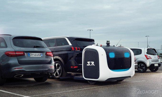 Робот Stan паркует машины лучше человека (7 фото + видео)