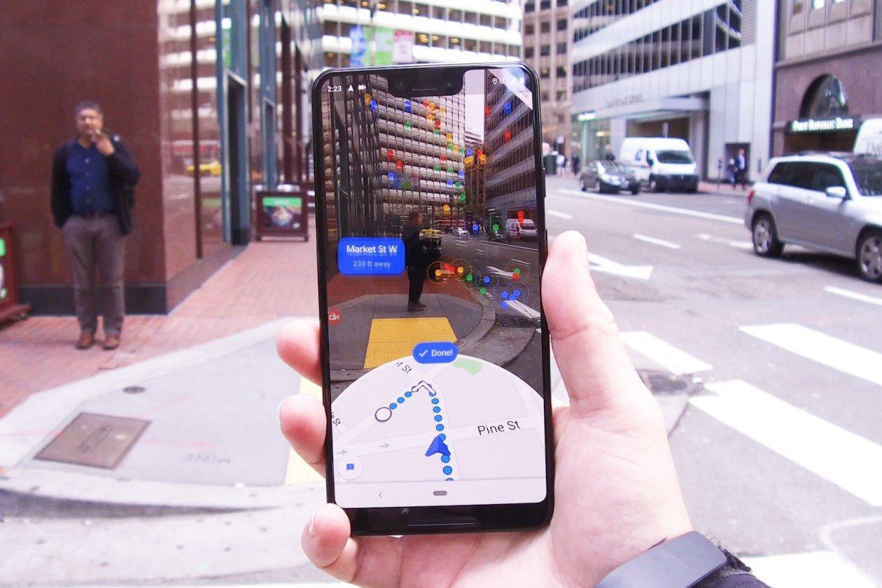 Картинки по запросу google ar навигация