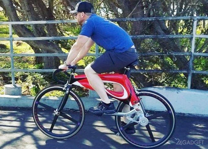 Футуристичный бесцепной велосипед NuBike