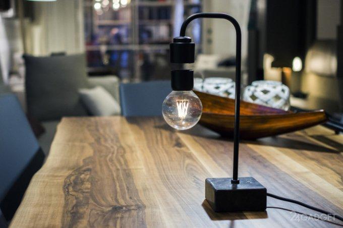 Levia – потрясающая лампа с левитирующим светом (18 фото + видео)