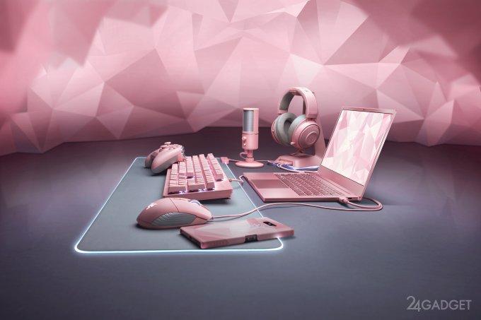 """Razer подготовил """"розовую"""" серию игровых устройств (7 фото + видео)"""