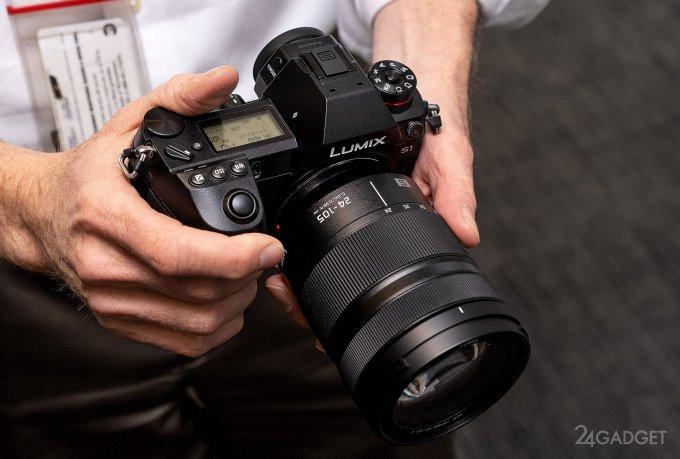 Panasonic выпустила первые полнокадровые беззеркалки Lumix S1R и S1 (9 фото)