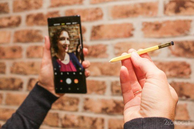 Samsung кардинально изменит расположение селфи-камеры в Galaxy Note (5 фото)