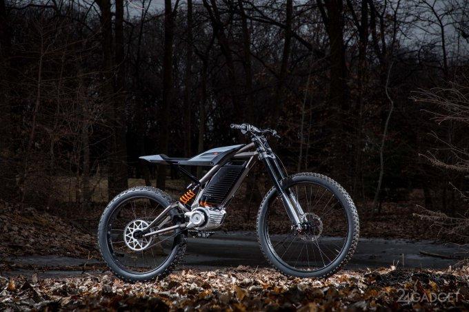 Harley Davidson представил электрические скутер и мопед (6 фото + видео)