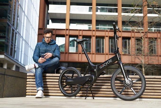 Gocycle GX — электровелосипед, складывающийся за 10 секунд (9 фото + видео)