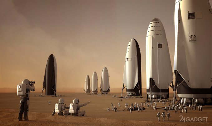 Илон Маск озвучил стоимость билета на Марс (2 фото)