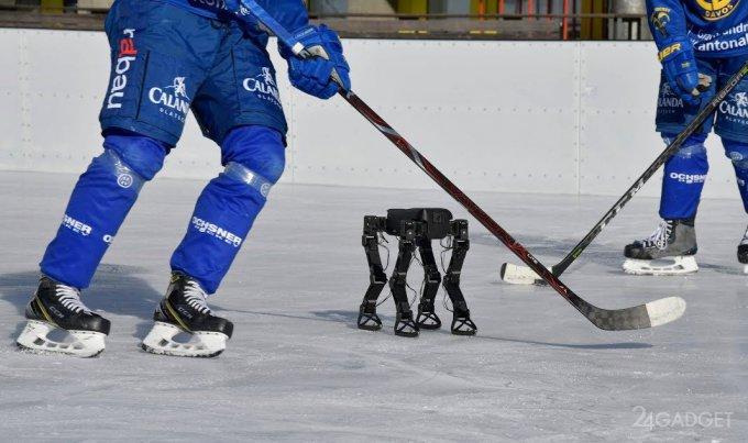 Швейцарцы обучили робота катанию на коньках (видео)