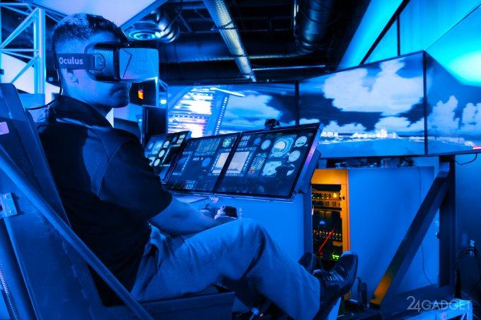 Армейских летчиков отправят в виртуальную реальность (2 фото)