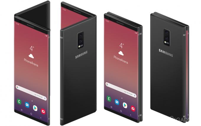 Складной Galaxy F может не оправдать ожиданий пользователей (7 фото + видео)