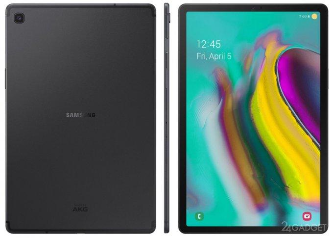 Samsung Galaxy Tab S5e — тончайший планшет с высокой автономностью (6 фото)