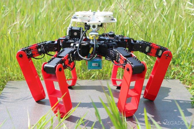 AntBot – робот, получивший навигационную систему муравьев (3 фото + 2 видео)