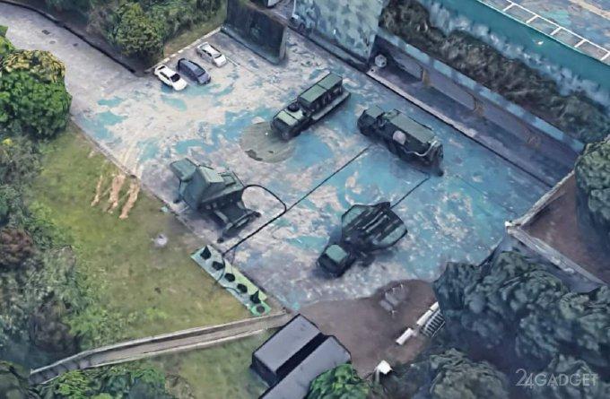 Google Earth 3D рассекретил секретную военную базу на Тайване