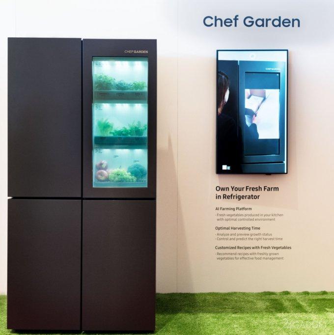 Samsung презентовала кухонного робота Bot Chef и не только (8 фото + видео)