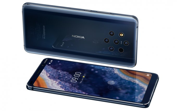 Флагман Nokia 9 PureView оснастили пентакамерой (6 фото)