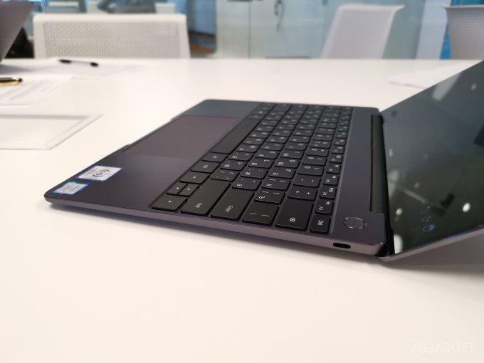 Новый MateBook 13 от Huawei с дискретной графикой и Intel Core i7 обеспечит до 10 часов автономности (6 фото + видео)