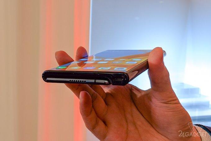 Складной смартфон Huawei Mate X - живые фото, дата выхода продажу и цены (10 фото)