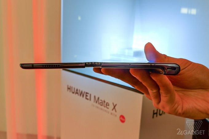 Складной смартфон Huawei Mate X - живые фото, дата выхода в продажу и цены (10 фото)