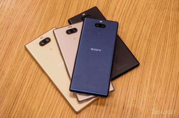Перезапущена линейка смартфонов Xperia от Sony (4 фото + 2 видео)