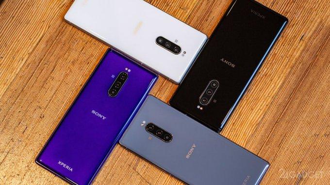 Новому Xperia 1 от Sony заменили имя, дизайн и дисплей (3 фото + видео)