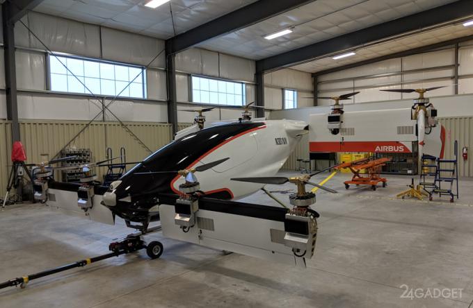 Новая модель летающего такси Vahana совершила невероятный полет