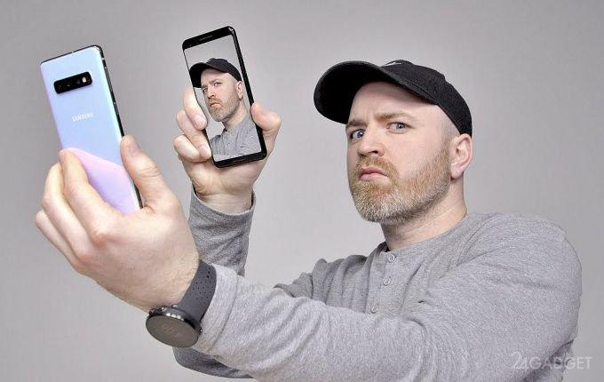 Функцию распознавания лица в Galaxy S10 легко обмануть (2 фото + 2 видео)