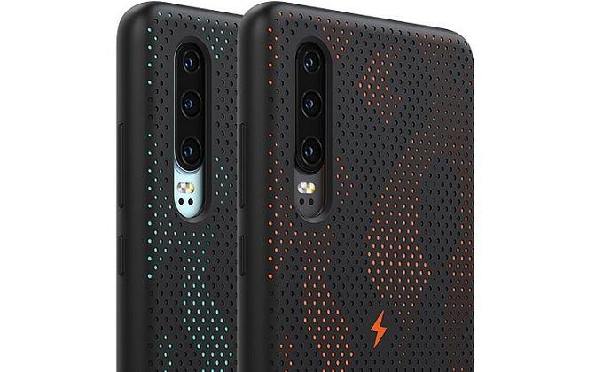 Фирменный чехол добавит Huawei P30 функцию беспроводной зарядки (4 фото)