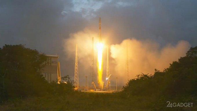 Первые спутники глобального интернета OneWeb на орбите (видео)