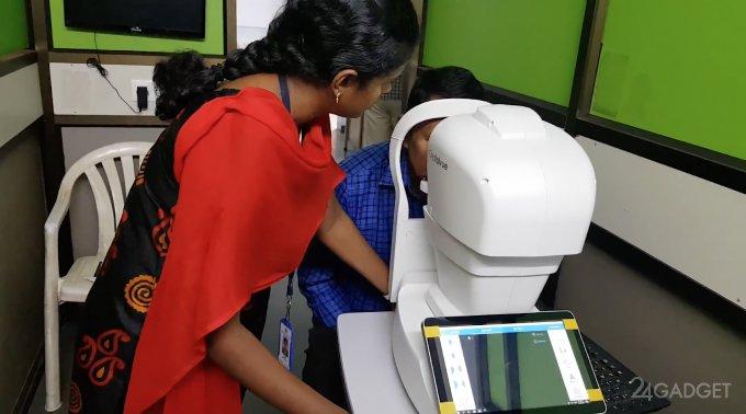 ИИ от Google определит диабетическую ретинопатию лучше врачей