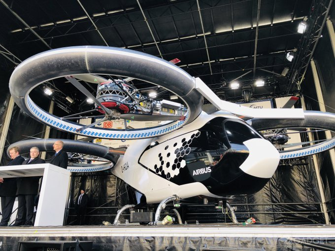 Представлен CityAirbus — прототип беспилотного аэротакси (7 фото + видео)