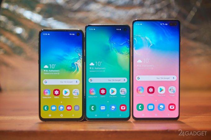 Samsung Galaxy S10, S10+ и S10e не прошли тест на прочность (видео)