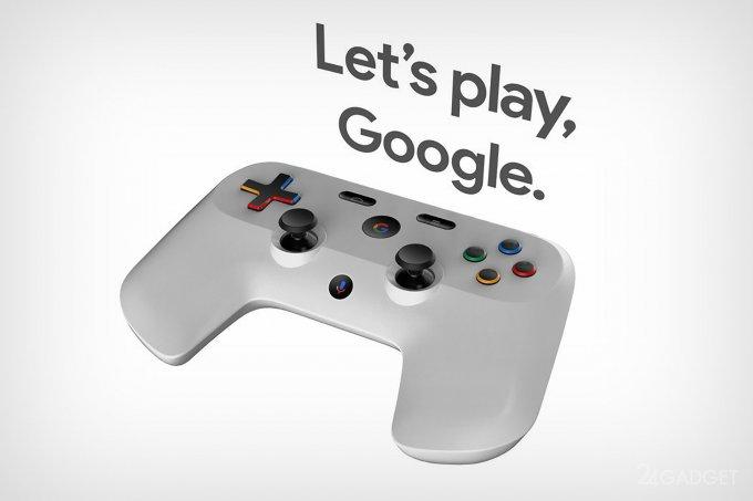 Google создаст геймпад с дисплеем и голосовым ассистентом (7 фото)