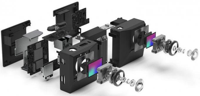 Insta360 EVO — раскладная камера для 3D- и VR-съёмки (13 фото + видео)