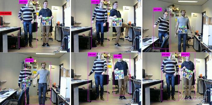 Абстрактная картинка помогает обмануть камеры видеонаблюдения (2 фото + видео)